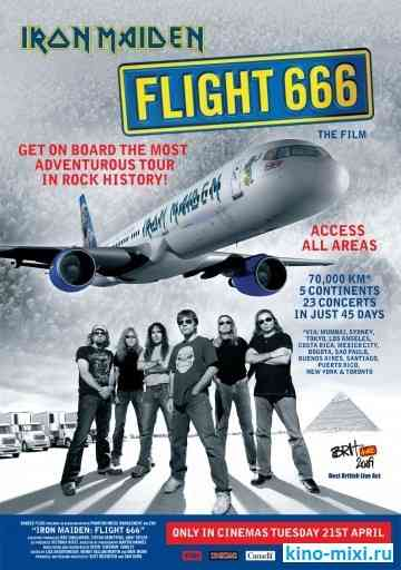 Iron Maiden � ���� 666 / Iron Maiden: Flight 666 (2009) - ������, ��������������